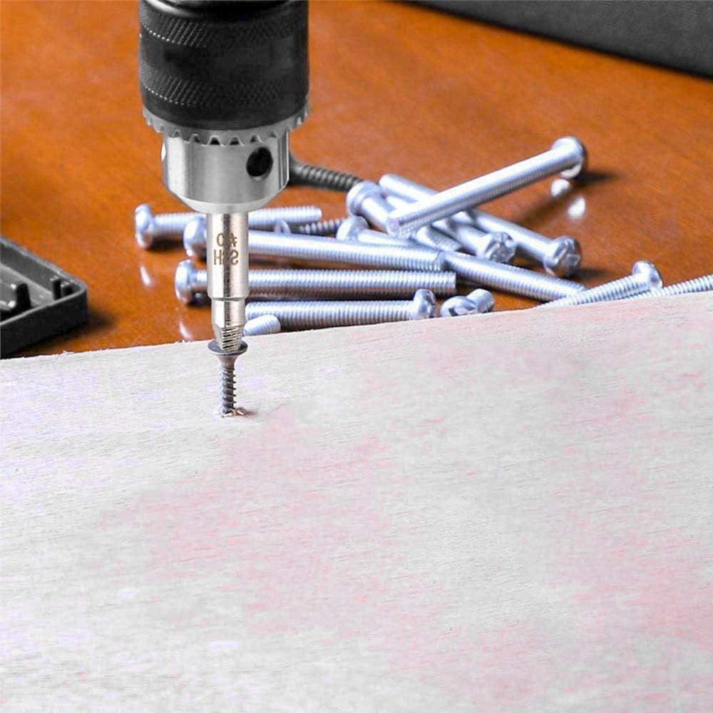 5 PCS Extracteur de Vis Endommag/ée Kit dExtracteurs de Vis Cass/ée Tournevis Extracteur Fabriqu/é en HSS 4241 pour Retirer L/Écrou Cass/é Vis ou Boulons