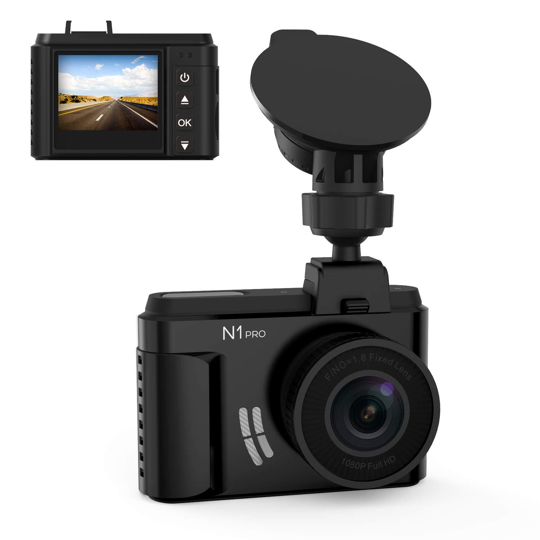 Vantrue N1 Pro Mini Dash Cam Full HD 1920X1080P Car Camera 1.5'' LCD Dash Camera Car Video Recorder with Sony Sensor, Super Night Vision, Parking Mode, G-Sensor & Collison Detection, Support 256GB Max