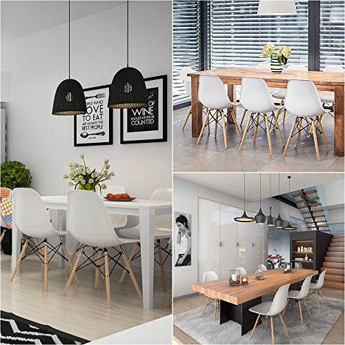 Amazoncom  Furmax Pre Assembled Modern Style Dining