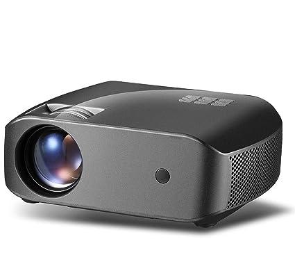 FULANTE Proyector, microproyección HD Resolución F10 1280 ...