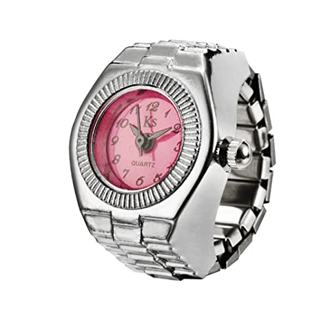 Reloj de pulsera para mujer Ronamick, esfera de cuarzo