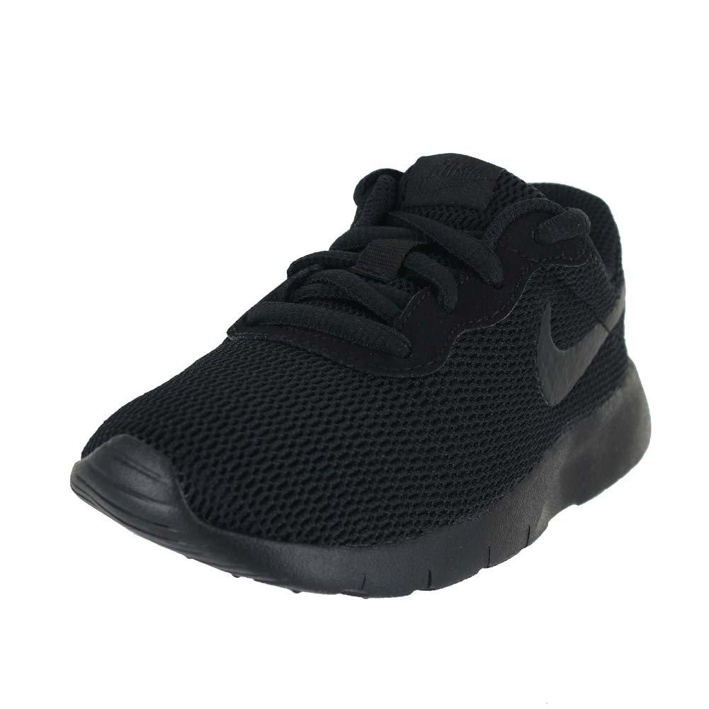 NIKE Kids Tanjun (PS) Running Shoe Black/Black(001) 1 Little Kid M