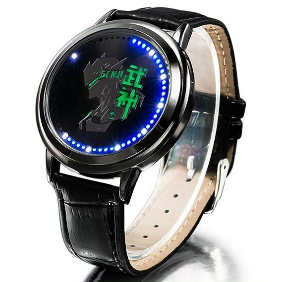 wildforlife Overwatch Genji de coleccionista Edition Touch LED Reloj