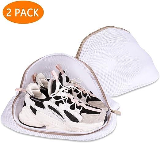 Hotott Saco Lavadora para Zapatos, Bolsas Premium de Malla de ...