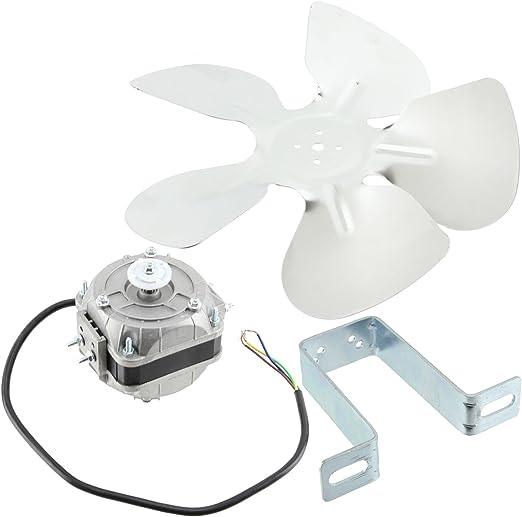 SPARES2GO Kit de ventilador universal para nevera congelador ...