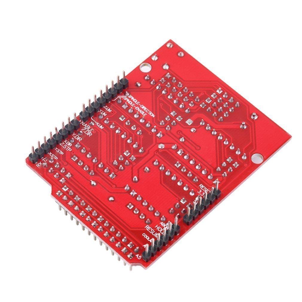 machine-outil /à commande num/érique HiLetgo/® Lot de 2 cartes d/'extension pour graveurs V3 et imprimante 3D pilote A4988/pour Arduino CNC
