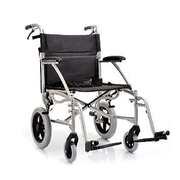 YUWELL - Silla de ruedas plegable de aluminio ultraligera ...