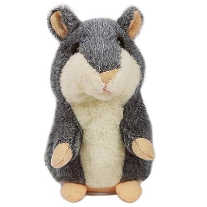 Hámster Hablando, el Ratón mascota repite todo lo que ha dicho, Sacudiendo la cabeza