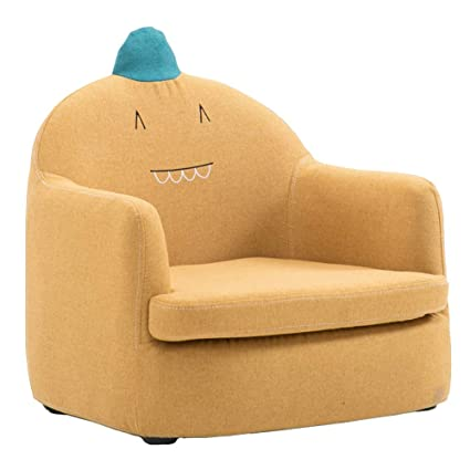 Marvelous Amazon Com Lxla Mini Sofa Lounge Chair For Kids Child Squirreltailoven Fun Painted Chair Ideas Images Squirreltailovenorg