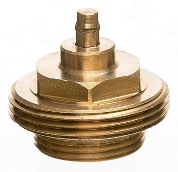 eurot Electronic 700 100 0122 metal adaptador para radiadores electrónicos termostatos, metal: Amazon.es: Bricolaje y herramientas