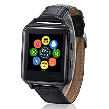 DROMATEC® Fashion montre connectée compatible android iphone smartwatch bluetooth avec carte sim email sms calories