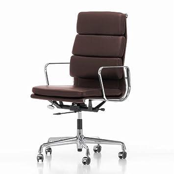 Bürostuhl Vitra vitra ea 219 pad eames alu chair bürostuhl leder