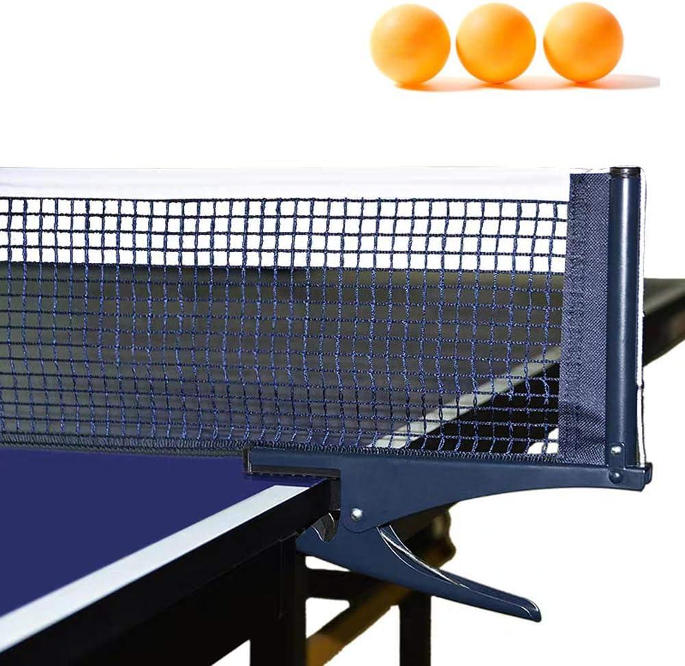 LXALY Red de Tenis de Mesa,Juego de Tenis,Red portatil Ping-Pong