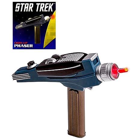 Amazon com: Light Up Phaser Star Trek Miniature Deluxe Mega
