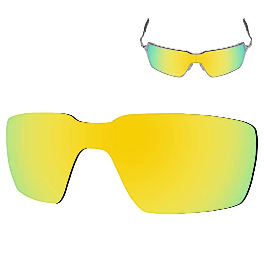 f1d74023aa4 Galvanic Replacement Lenses for Oakley Probation Sunglasses - 24k Polarized