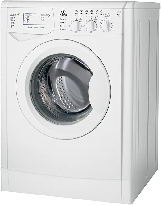 Indesit WIXL 105 Independiente Carga frontal 6kg 1000RPM A+ Blanco ...