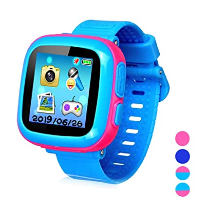 Kids Smart Watch Girls Boys,Smart Game Watch with Camera Touch Screen Pedometer,Perfect Holiday Birthday Toys Gifts (Joint Pink)