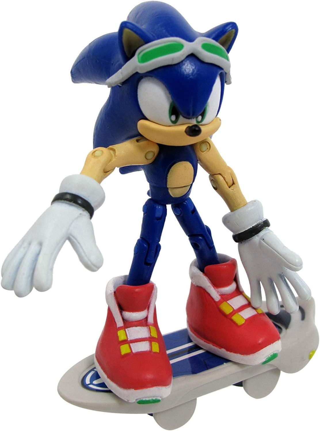 "Sonic the Hedgehog Werehog 3.5/"" plastique figurine par Jazwares"