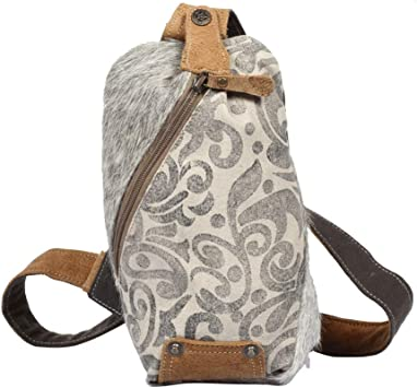 Amazon Com Myra Bag Top Zipper Upcycled Canvas Cowhide Fanny Pack S 1300 Brown Size 8 0 Waist Packs More ideas from myra anne unique handbags. myra bag top zipper upcycled canvas cowhide fanny pack s 1300 brown size 8 0