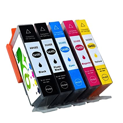 Impresora tinta HP 364 compatible con HP Photosmart 5510 ...