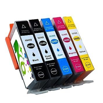 Impresora tinta HP 364 compatible con HP Photosmart 5510, 5515 ...