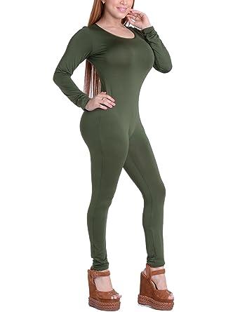 fc0f1fa68f9a Amazon.com  XUGWLKJ Women s One Piece Bodysuit Shapewear Bodycon Clubwear  Jumpsuits Romper  Clothing