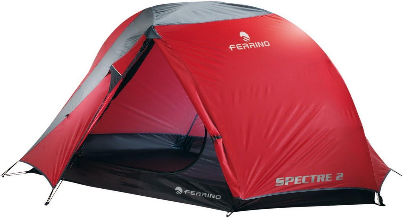 Red Ferrino 91149FRR Tienda de campa/ña Acampada y Senderismo Rojo Adultos Unisex Talla /Única