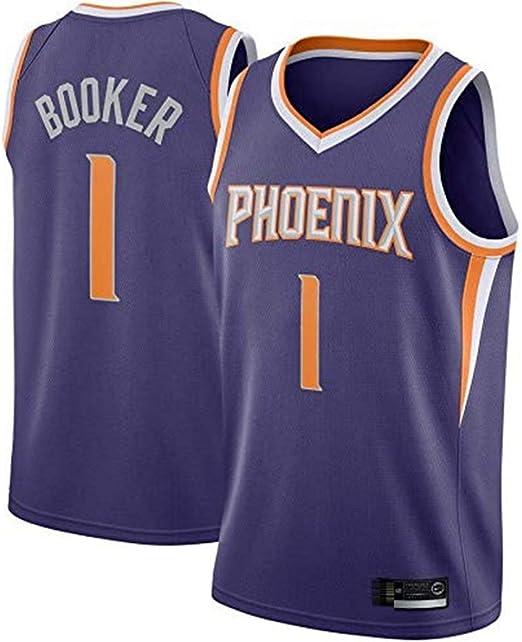 WXCCK Camiseta Unisex Sin Mangas De Los Phoenix Suns # 1 Devin ...