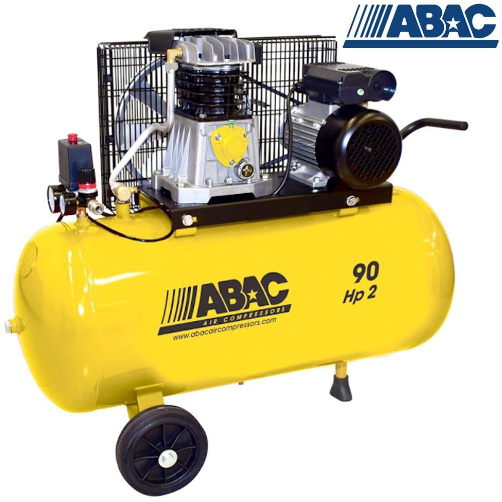 Compressore aria, 90 lt ABAC B2800I/90 CM2 Red Line: Amazon.es: Bricolaje y herramientas