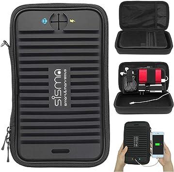sisma Bolsa Organizador electrónica para Cables Cargador Memoria USB Auricular: Amazon.es: Electrónica