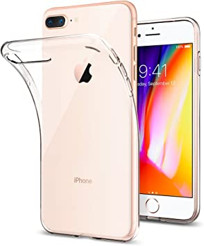Amazon Com Spigen Liquid Crystal Designed For Iphone 7 Plus Case 2016 Crystal Clear Electronics