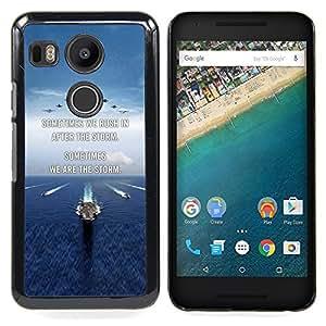 """For LG GOOGLE NEXUS 5X H790 Case , Te Amo Luna Texto Sunset Beach Ocean"""" - Diseño Patrón Teléfono Caso Cubierta Case Bumper Duro Protección Case Cover Funda"""