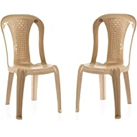 Easyday Dream Without arm/armless WOA Plastic Chair (Marble Beige)
