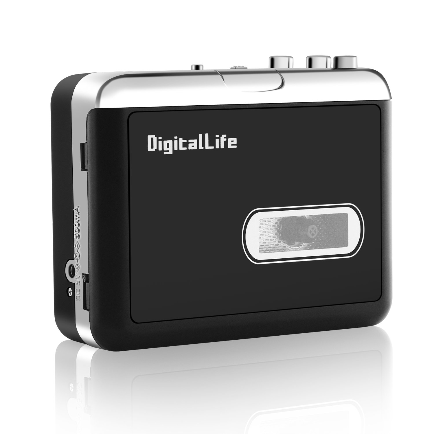 USB Flash Drive Not Included Retro Cassette Player Convert Walkman Tape Cassette to MP3 Format Compatible with Laptop and PC Portable Tape Player Capture MP3 Audio Music via USB