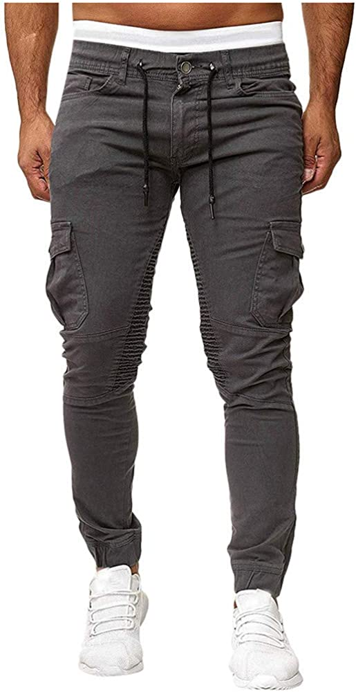 Pantalón Corto Bermuda Pantalones De Tela para Hombre con Cinturón ...