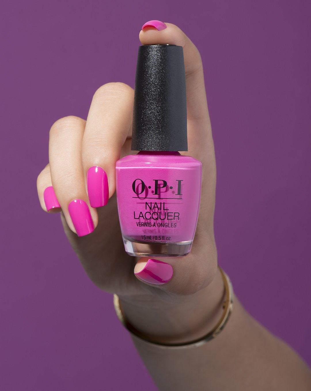 Amazon.com: OPI Nail Lacquer, No Turning Back from Pink Street, 0.5 ...