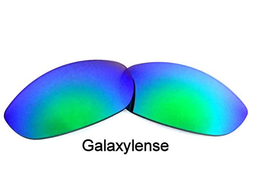 2edab1c306 Galaxy Replacement Lenses for Oakley Monster Dog Blue Color Polarized