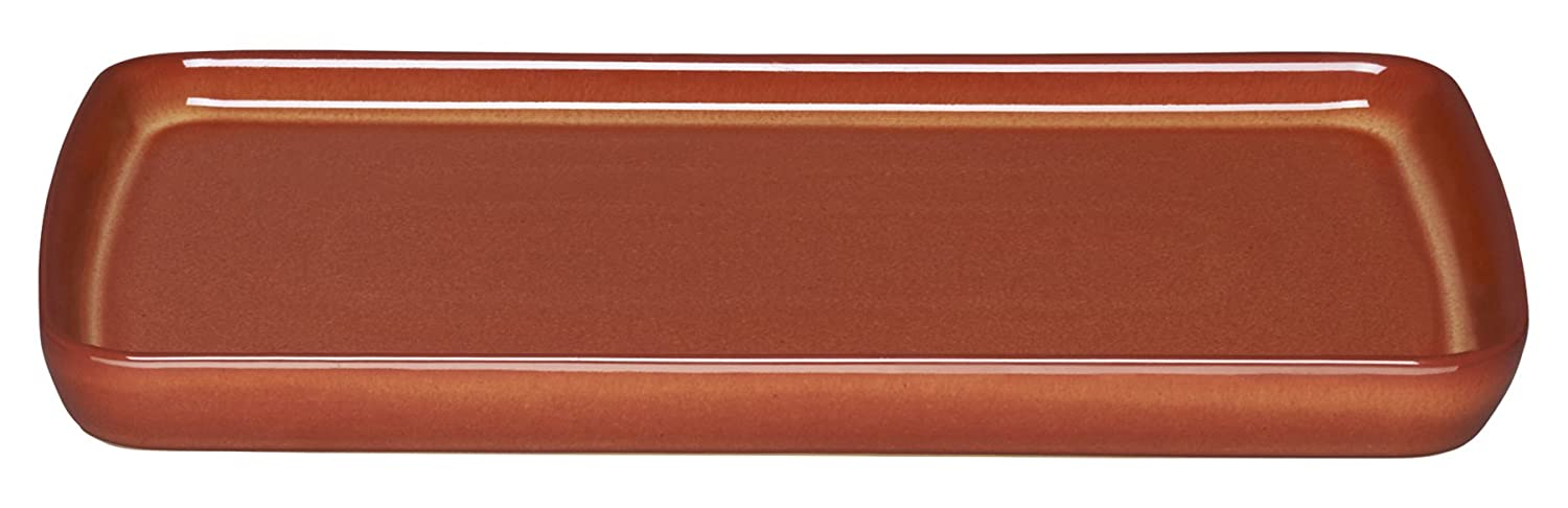 Denby Fire Nesting Bowl, Stone, Cream/Burnt Orange/Red, Small 95010678