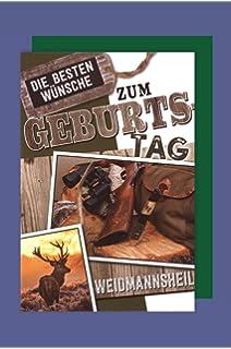 Jagd Geburtstagskarte Gluckwunschkarte Mod 4 Amazon De Sport