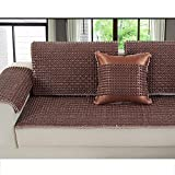 Sofa Cover Anti-Slip Wear Resistant Sofa Mat Cool Living Room All-Inclusive Mat Ceramic Mat 1/2/3 Seater Universal Cover For Summer,5050Cm