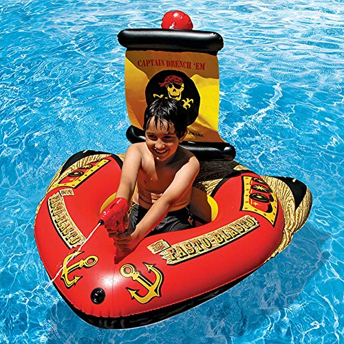 Yan Guo00 Barco Inflable para Niños, Inflable Flotante ...