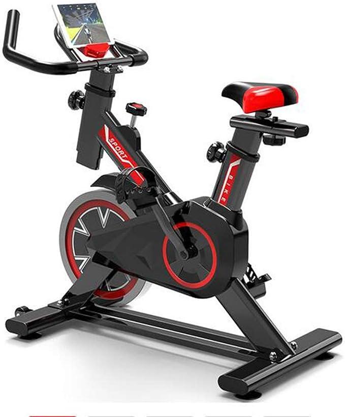 MEICHEN El Ejercicio en Bicicleta Indoor Bicicleta estática aparatos de Ejercicios de pérdida de Peso Que Adelgaza Pedal de Bicicleta estática Modelo básico sin marcación y sin aplicación Inteligente: Amazon.es: Deportes y
