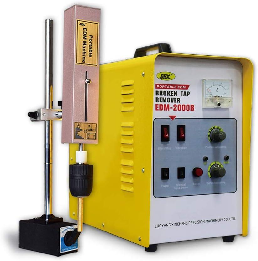Herramienta portátil para eliminar grifos rotos EDM, máquina de erosión de chispas