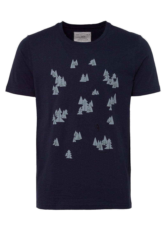 armedangels Herren T-Shirt Aus Bio-Baumwolle - James Penguin Forest - GOTS,  Made with Organic, CERES-008: Amazon.de: Bekleidung