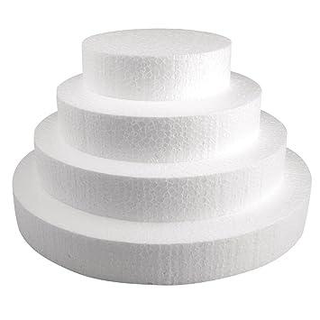 Disque polystyrene pour gateau de bonbons