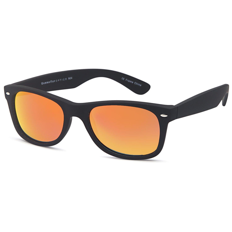 Amazon.com: GAMMA RAY UV400 52mm Adult Classic Style Sunglasses ...