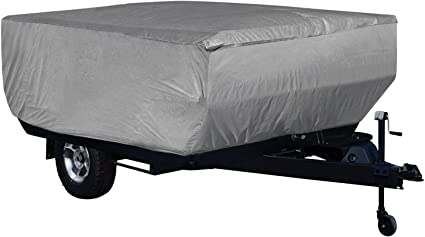 SavvyCraft Waterproof Pop Up Folding Camper Tent Trailer Storage Cover fits 10-12L