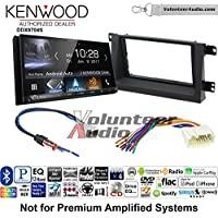 Volunteer Audio Kenwood DDX9704S Double Din Radio Install Kit with Apple Carplay Android Auto Fits 2006-2008 Honda Ridgeline