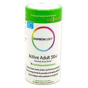 Rainbow Light Multivitamin One Active Senior, 90 ct