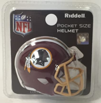 Image Unavailable. Image not available for. Color  Washington Redskins  Riddell Speed Pocket Pro Football Helmet ... aec112eab